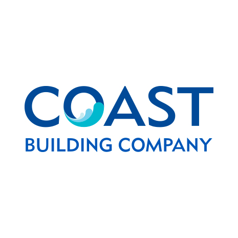 Coast Building logo design