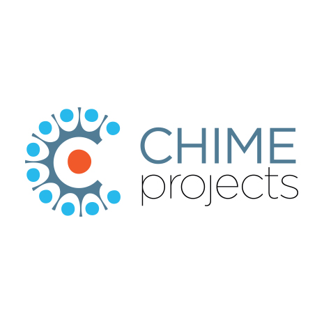 Chime projects logo design